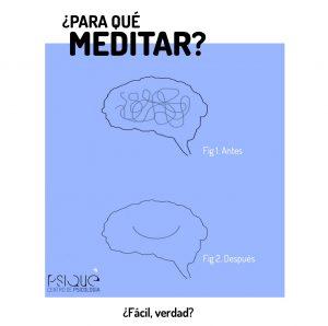 mindfulness beneficios cerebro enredado y cerebro aclarado